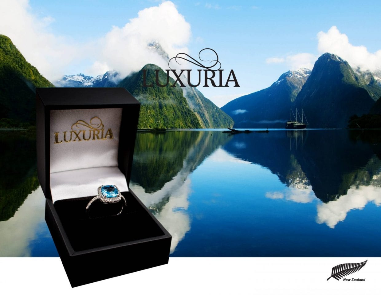 Luxuria is a jewellery brand from New Zealand