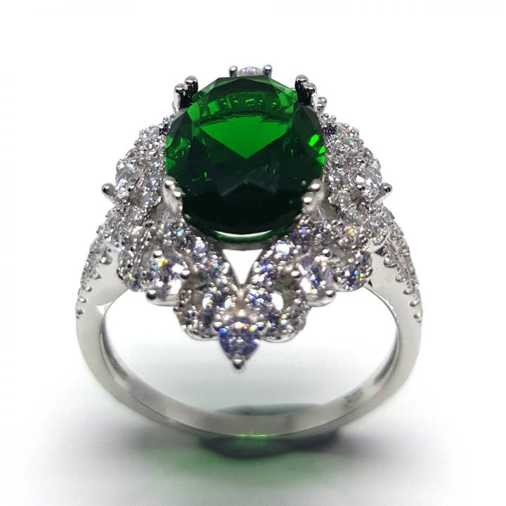 LUXR146-6 Make a statement with a cocktail ring from Luxuria Jewelry brand NZ