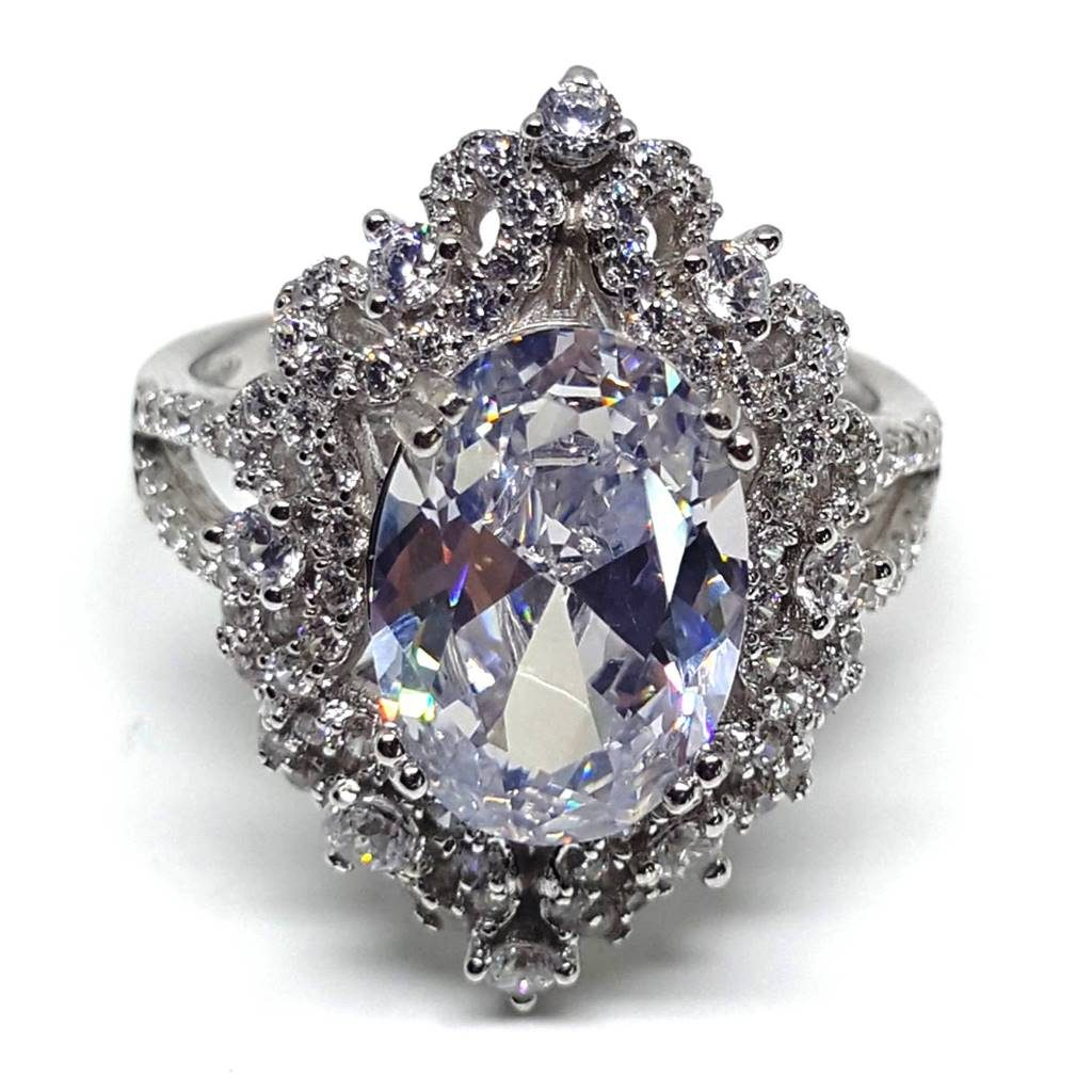 LUXR148-1 Luxuria diamond cocktail rings USA