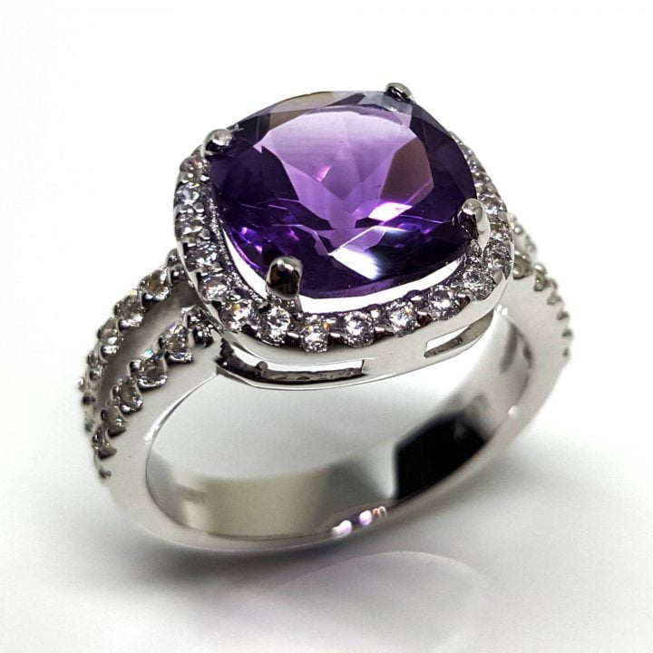 LUXR164 Améthyste by Luxuria jewellery brand New Zealand