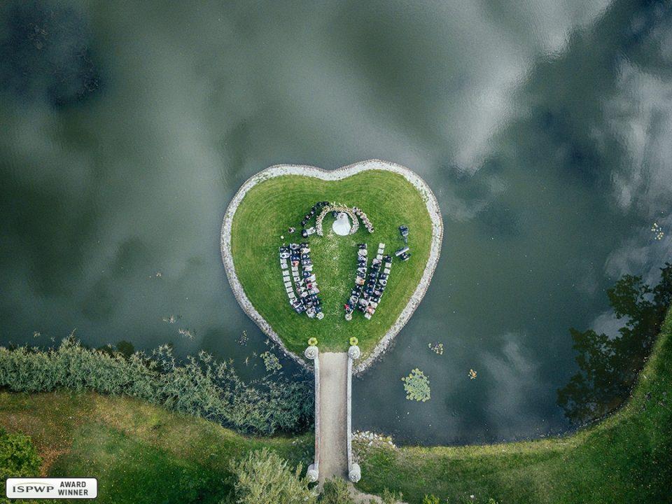Aerial Shot - Symphony of the heart. Photo by Marcis Baltskars, Marcis Baltskars, Riga, Latvia