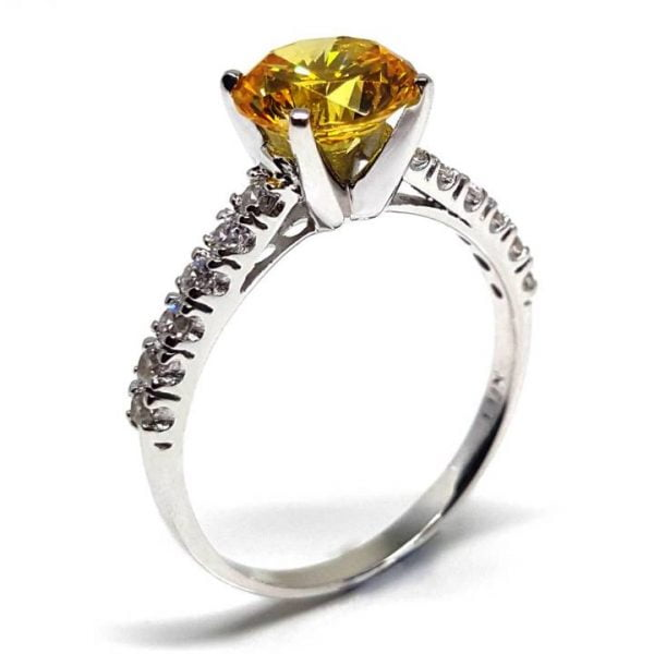 LUXR151 PROMITTO engagement ring - Luxuria Jewelry brand of New Zealand