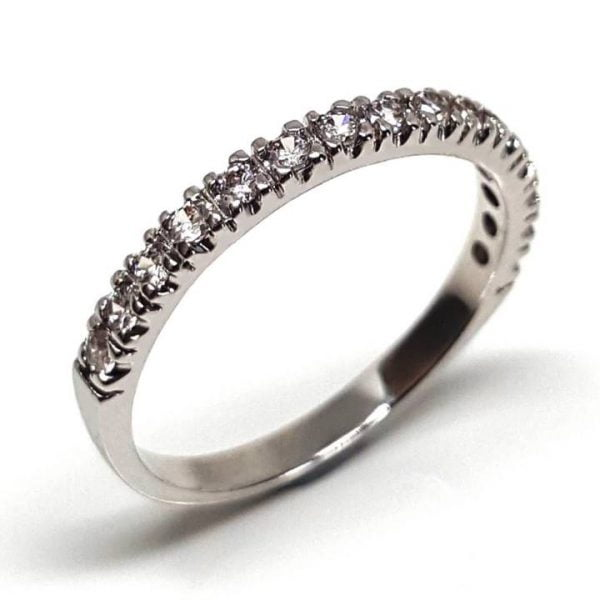 LUXR152 PROMISSIO Anniversary or eternity bands Luxuria Jewelry brand of New Zealand