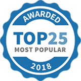 Luxuria - 2018 most popular award
