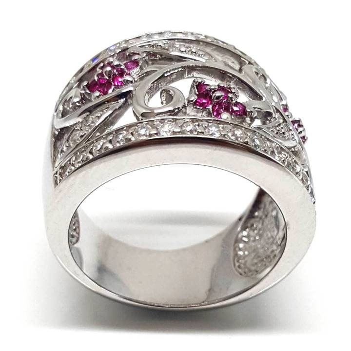 Luxuria this is substantial and gorgeous ring is best suited to us larger girls and will take you effortlessly from day to night.