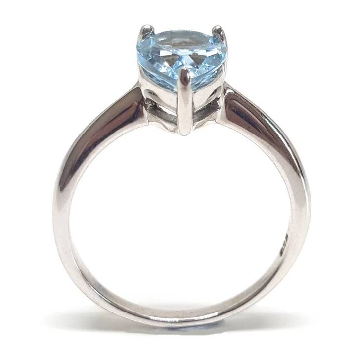 Luxuria. Blue topaz is a December birthstone and the 4th anniversary gem.