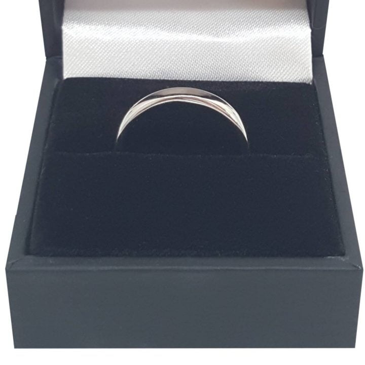 Luxuria Pledge your love with a polished silver wedding band from the Luxuria jewelry brand. These classic wedding bands are also perfect for travel purposes