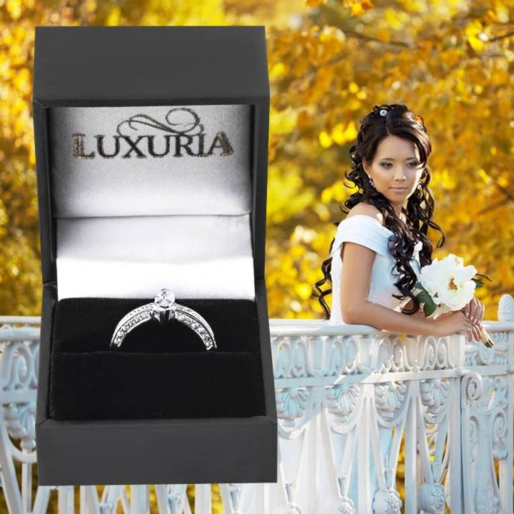 What is cubic zirconia - diamond simulant rings by Luxuria