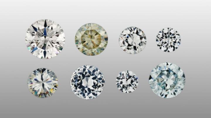 Diamond and various diamond simulants - GIA