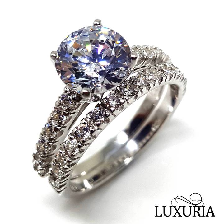 Simulants from Luxuria - Engagement Rings
