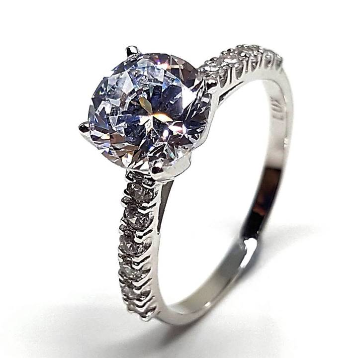 Best cubic zirconia engagement rings from Luxuria Diamonds