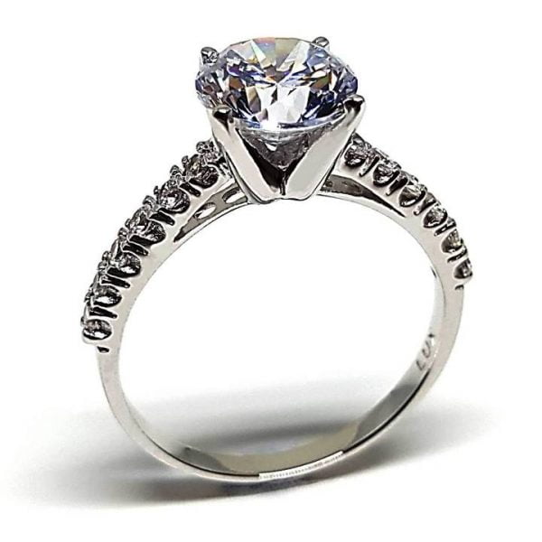 High quality cubic zirconia engagement rings Luxuria brands