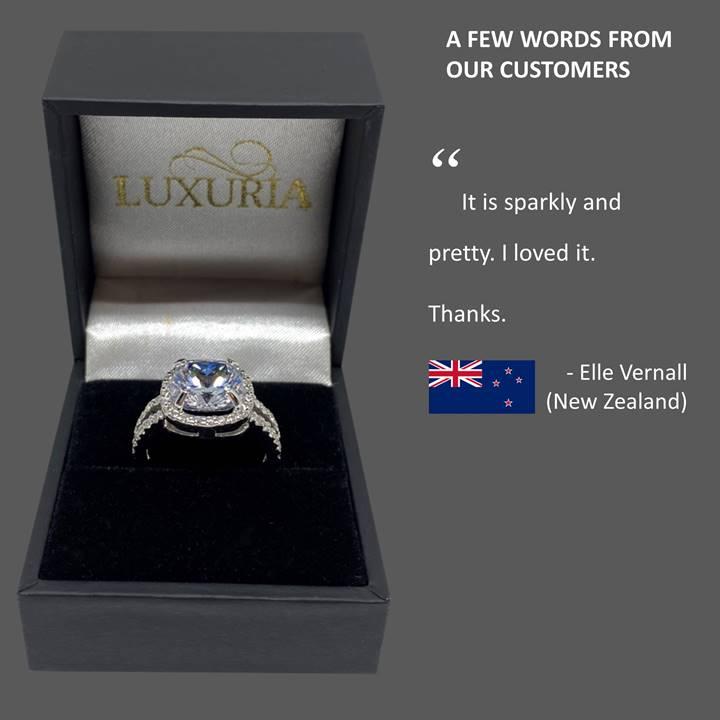 fake diamond rings Luxuria reviews