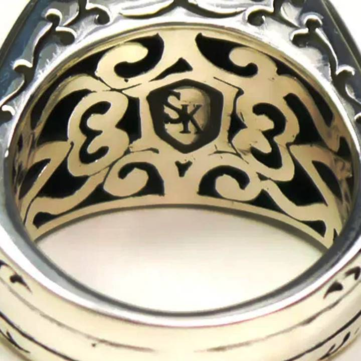 What does SK 925 stamp mark mean ring jewelry