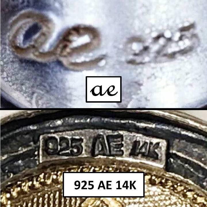 ae 925 signed jewelry meaning AE 925 stamp