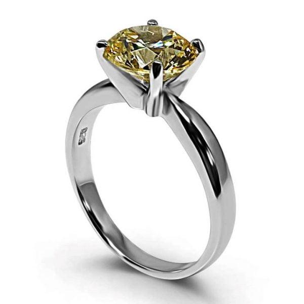 fake canary yellow diamond rings Luxuria
