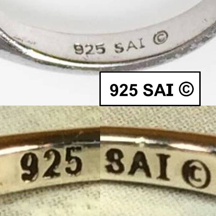What does SAI mean on 925 jewelry