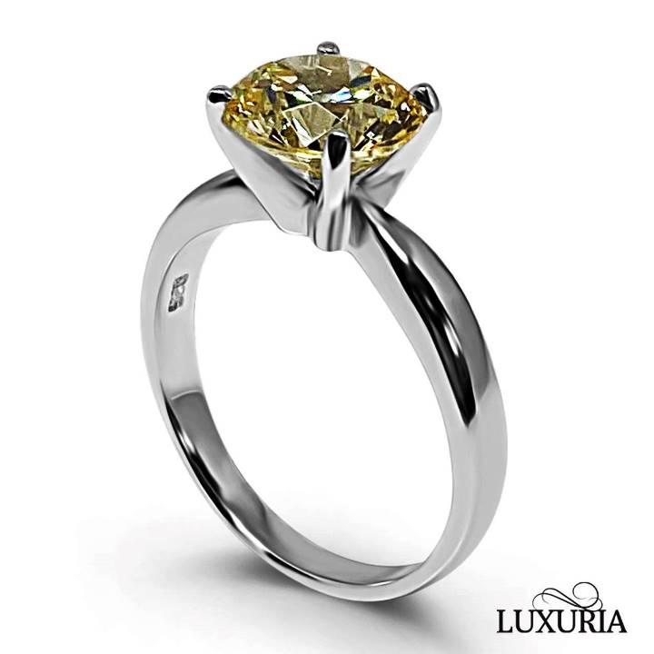 Types of fake diamonds canary diamond